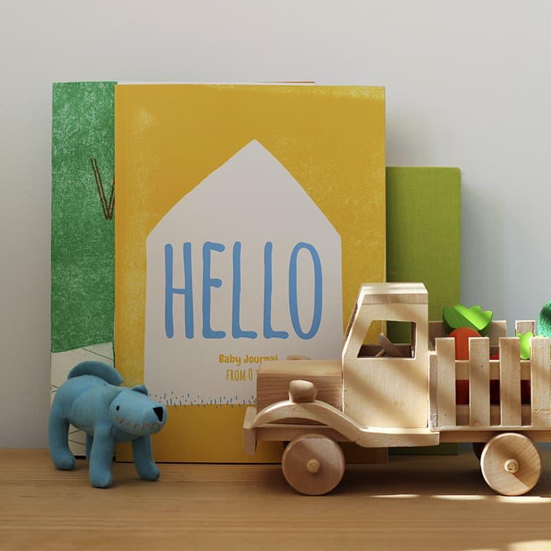 Hello - Baby Journal